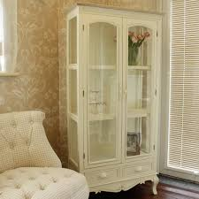 display cabinet glass doors cream glass display cabinet with drawers country ash range