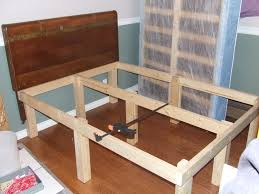 How To Make A Platform Bed Frame With Legs by 15 Bed Frame 6 Steps With Pictures