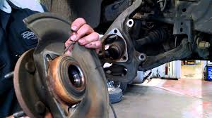 2005 dodge dakota front suspension diagram wheel bearing hub assembly replacement dodge dakota 2005 2009