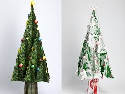 14 faux christmas trees to green your holidays inhabitat green