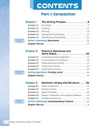 grammar for writing level red grade 6 student edition