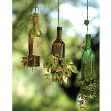 Wine Bottle Planters by Upcycle Your Wine Bottles Boston Interiors Beyond Interiors