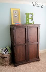 Entertainment Armoire With Pocket Doors Ana White Toy Or Tv Armoire Diy Projects