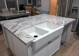 ice white granite kitchen island florida condo pinterest