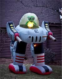 alien robot inflatable halloween decoration walmart com