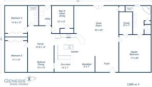 Metal Building Floor Plans With Living Quarters Metal Home Plans Metal Building House Plans Steel Building House