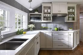 kitchen grey and white kitchen backsplash white kitchen