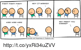 25 best memes about fight fight fight kiss kiss fight fight