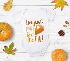 happy thanksgiving pie baby boy thanksgiving