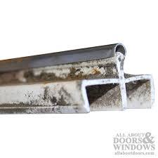 Patio Sliding Door Track Patio Glass Door Track White Discontinued