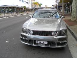 nissan stagea aussie old parked cars 1999 nissan stagea rs four wc34 series 2