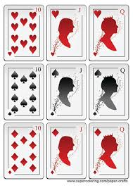 Playing Card Design Template Deck Of Cards Template 22 Playing Card Designs Free Premium