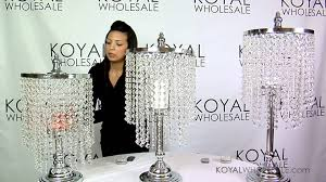 how to light up our crystal candelabra sets weddings event decor by koyal whole you