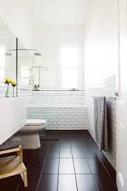 How To Clean Black Tiles Bathroom What U0027s The Best Tile Layout For My Bathroom Straight Or