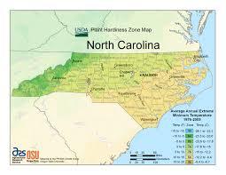 Usda Zone Map When Can I Plant In North Carolina