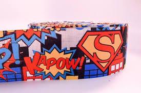 superman ribbon 3 wide superman printed on grosgrain cheer bow ribbon iowa