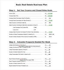 free business plan template pdf sle real estate business plan template 7 free documents in pdf