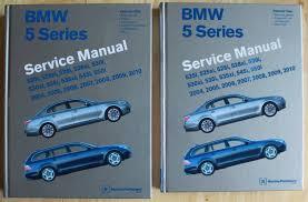 bmw shop manual service repair book e39 97 03 5 series e 39