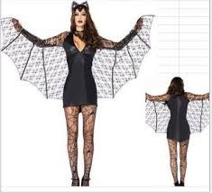 free shipping new black evil vampire bat costume women