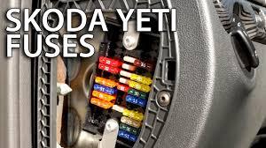 2012 Jetta Cigarette Lighter Fuse Location Where Are Fuses In Skoda Yeti Automotive Repair U0026 Maintenance