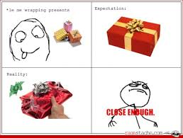 Wrapping Presents Meme - comic wrapping presents funnies pinterest comic humor and