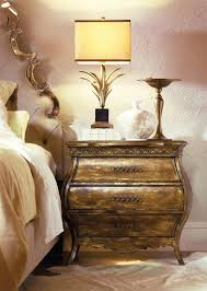 Bombay Chest Nightstand Three Drawer Bombe Nightstand With Power Strip And Usb Provisions