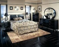 ashley furniture black bedroom set prentice and white king