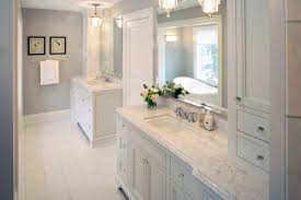 Bathroom Among White Sinks Also White Vanities On The Bottom Of - Bathroom vanities with quartz countertops