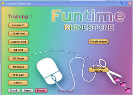 strass new funtime software wow cut rhinestone template