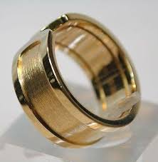 model wedding ring cartier c decor large model wedding ring in 18k yellow gold