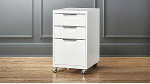 Two Drawer Filing Cabinets Tps 3 Drawer White File Cabinet Cb2