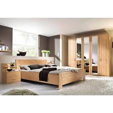 ensemble chambre lit 2 chevets armoire 6 portes aulne autres