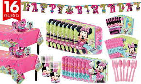 Minnie Mouse Table Covers Minnie Mouse Party Supplies Minnie Mouse Birthday Ideas Party City