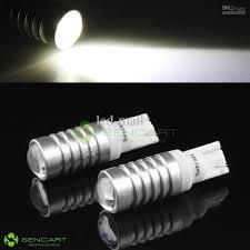 Led White Light Bulbs by T10 W5w 5w Cree Led White Light 12v 24v Corner Interior Tail