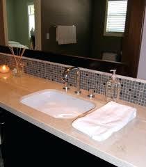 glass tile backsplash ideas bathroom bathroom vanity tile backsplash bathroom subway tile bathroom vanity
