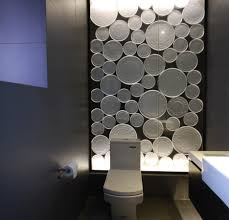 cool bathroom designs such a cool bathroom highlighter wall but maybe more apt for a