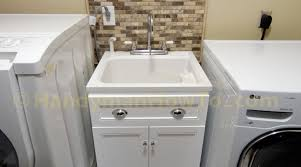 Laundry Room Sink Cabinets by Cabinet Utility Sink Cabinet Noticeable Make Utility Sink