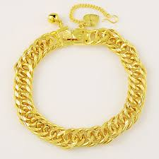 aliexpress buy new arrival fashion 24k gp gold 8mm links chain men bracelet factory price fashion trendy men s