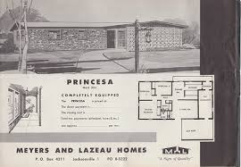 Florida Homes Floor Plans Mid Century Architecture 1960s San Mateo Florida Mid Century