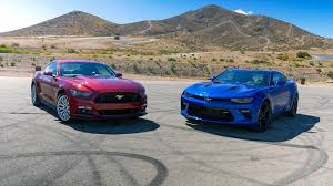 mustang or camaro ford mustang vs chevy camaro autoblog s pony car shootout