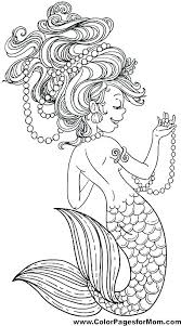 printable coloring pages of mermaids h2o coloring pages mermaid coloring pages swimming mermaid coloring
