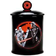star wars darth vader dark side ceramic cookie jar novelty