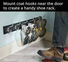 Entryway Coat Rack With Shoe Storage by Wall Mount Coat Racks For Entryway Shoe Storage Storage