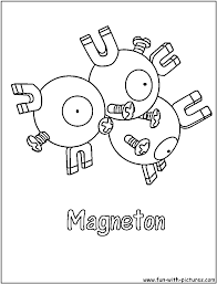 magnet coloring pages funycoloring