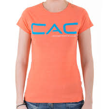 s orange cac t shirt climbers against cancer