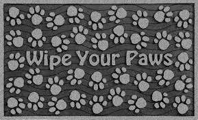 Please Wipe Your Paws Coir Please Wipe Your Paws Doormat Cbaarch Com Cbaarch Com
