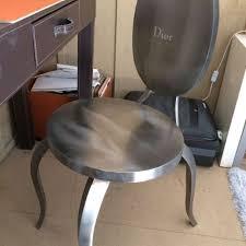 chaises medaillon chaise medaillon en metal brossé achat et vente