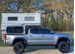 Truck Bed Trailer Camper Swift Pop Up Shorter 5 0 U0027 Bed Four Wheel Campers Low Profile