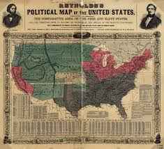 Usa Map 1860 by Civil War The Handbook Of Texas Online Texas State Historical