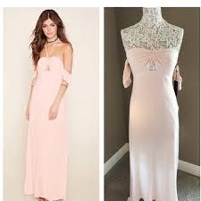 light pink halter dress forever 21 light pink halter long casual maxi dress size 12 l